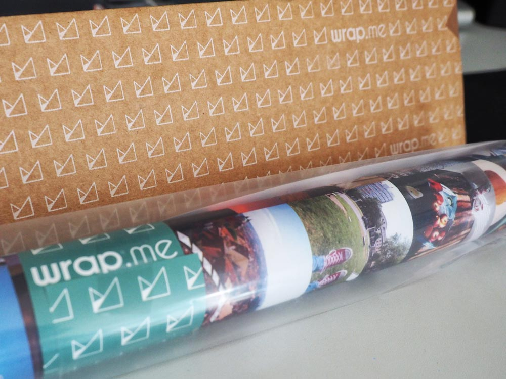 wrap.me Verpackung