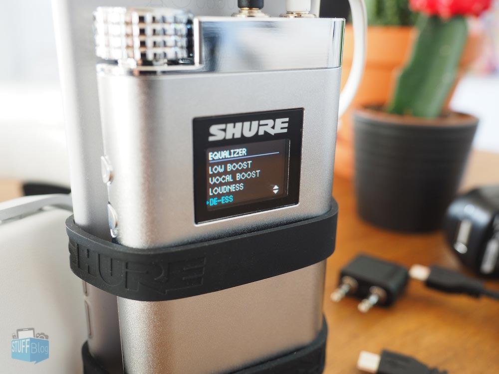 Shure SHA900 am iPhone