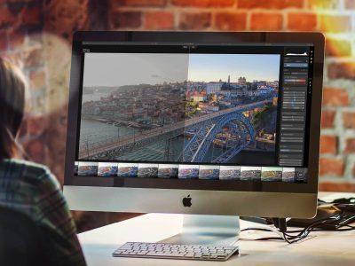 Luminar am Apple iMac
