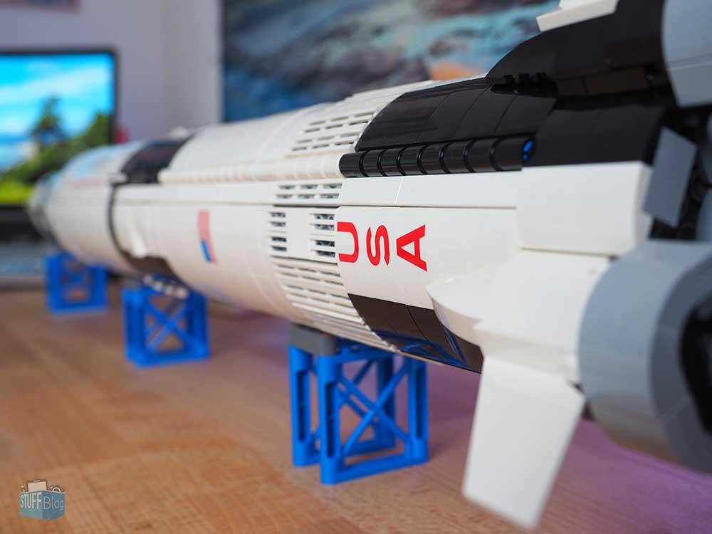 LEGO Saturn V horizontal