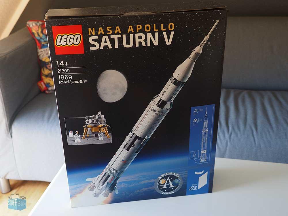 LEGO Saturn V Verpackung