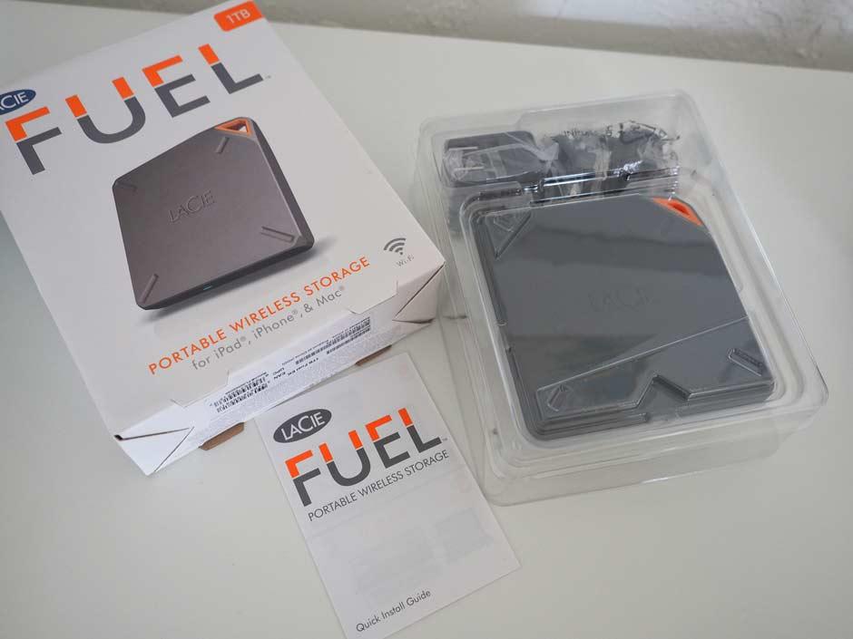 LaCie Fuel Verpackung