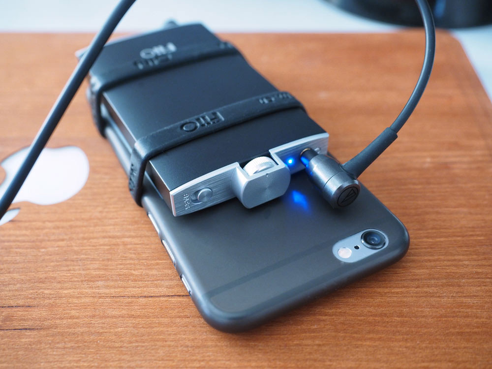 Fiio am iPhone
