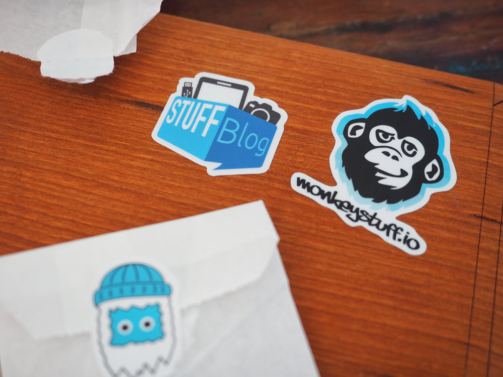 Stickeryeti Aufkleber