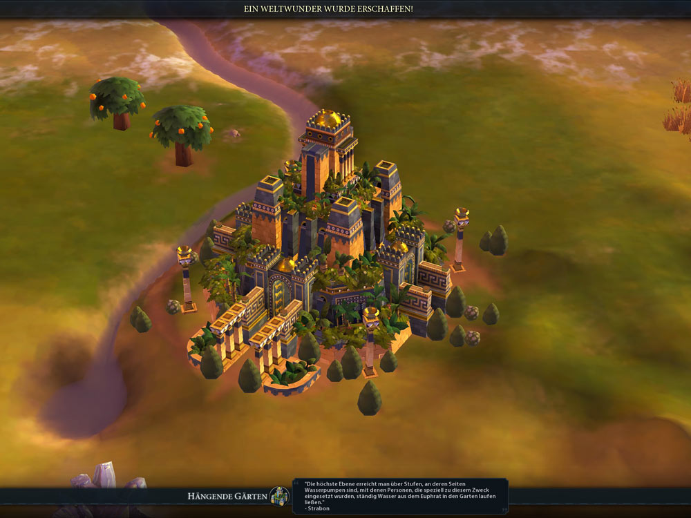 Civilization 6 Screenshot Weltwunder