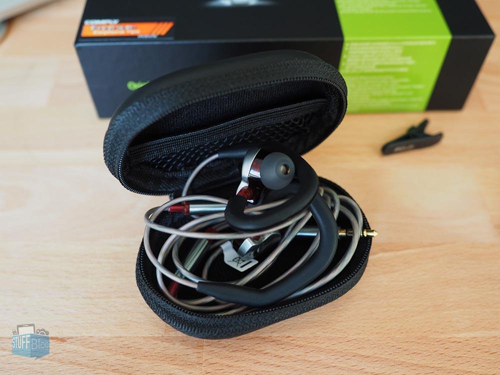 Fidue A73 - Premium In-Ear-Kopfhörer Aufbewahrungstasche