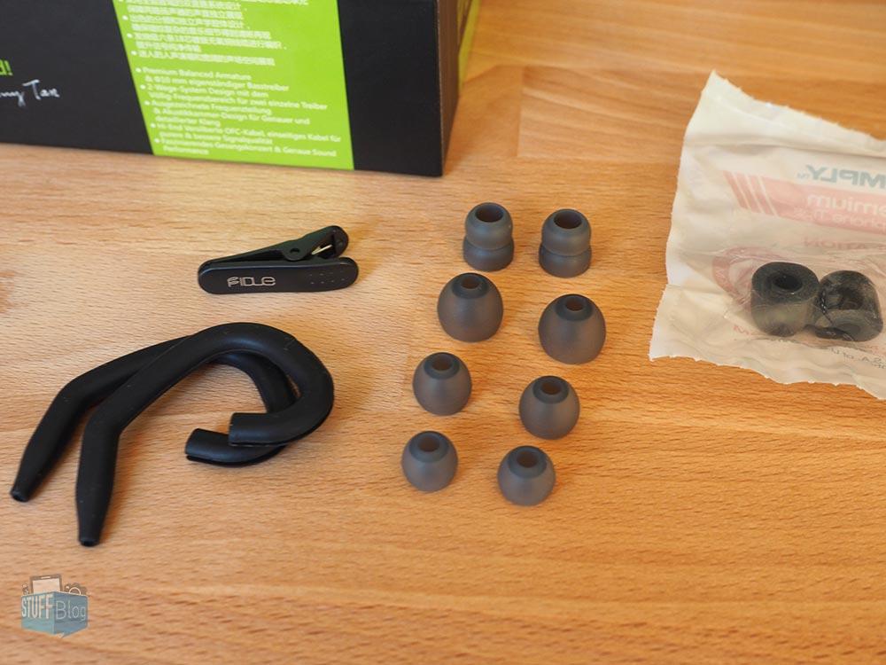 Fidue A73 - Premium In-Ear-Kopfhörer Zubehör