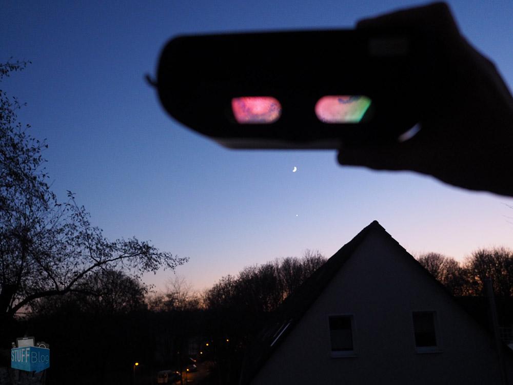Mond durch den Stargazer