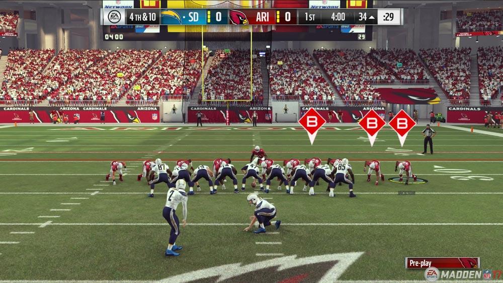 EA Sports Madden NFL 17 Fieldgoal