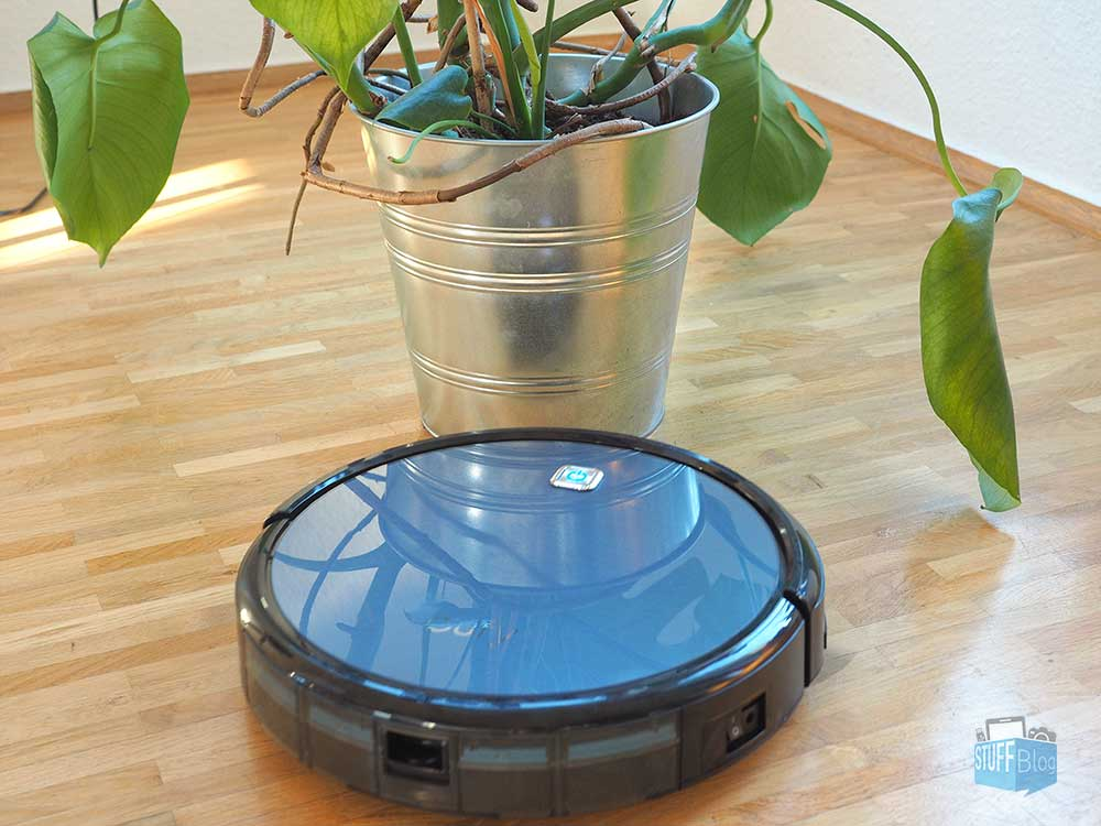 eufy RoboVac 11 Saugroboter Pflanzen