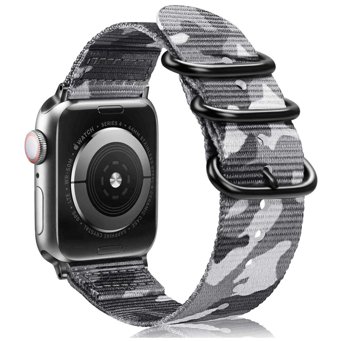 Camouflage Armband für die Apple Watch