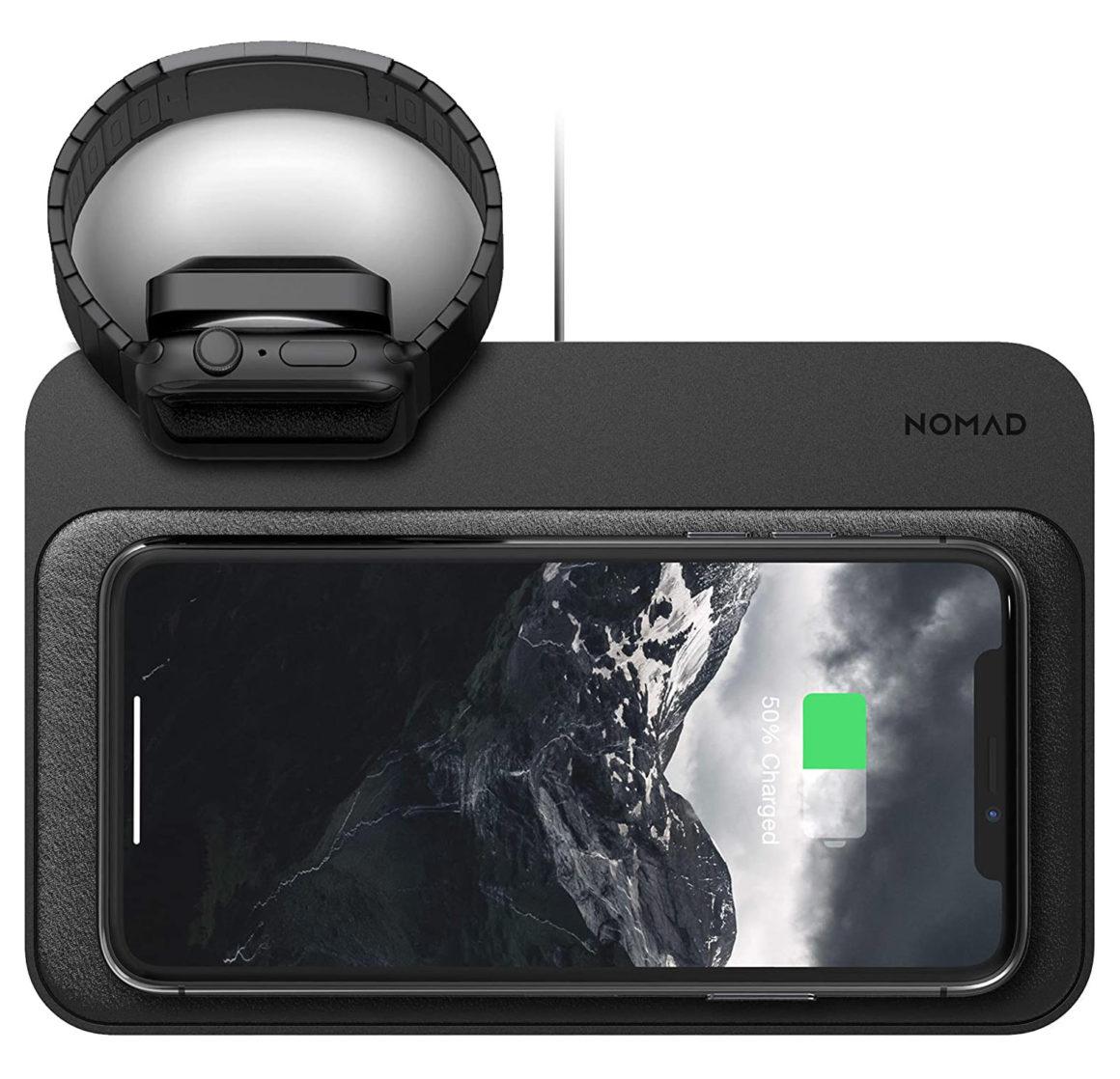 Nomad Base Station für Apple Watch und iPhone