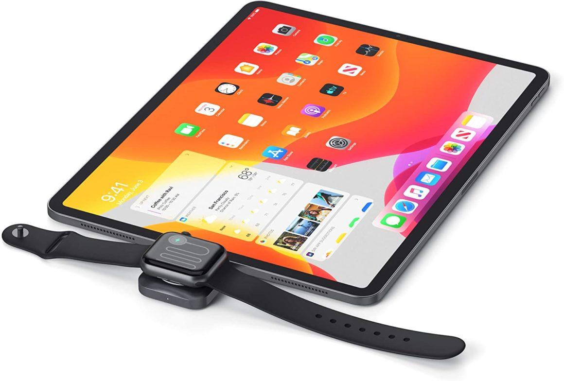 Apple Watch am iPad aufladen